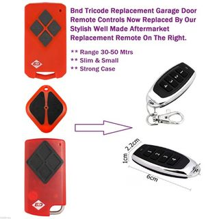B&d Tri Tran Garage Door Remote