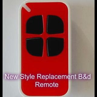 B Amp D 062170 4333ebd Garage Door Remote