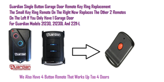 Guardian 1 Button Garage Door Remote