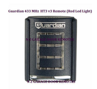 Original Guardian 433 MHz  HT3 v3 Remote (Red Led Light)