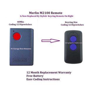 Merlin M2100 Garage Door Remote Control N Z Garage Door