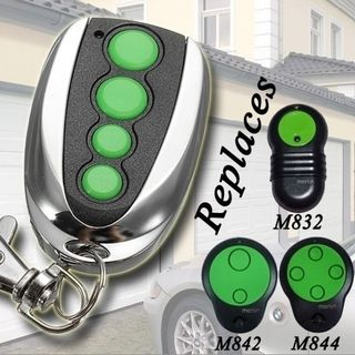 Merlin M832 Compatable Key Ring Garage Door Remote