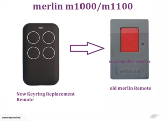Merlin m1000-M1100 Garage Door Remote