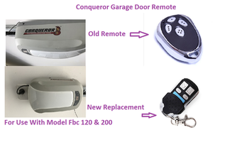 Conqueror  Fbc 200 Garage Door Remote