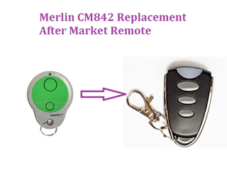 Merlin Cm 842 Garage Door Remote