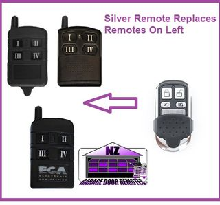 ECA Gate & Garage Door Replacement Remote