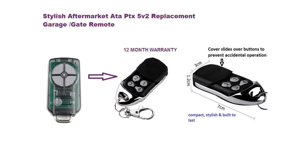 Replacement Dominator 5v2 Garage Door Remotes Nnz Garage