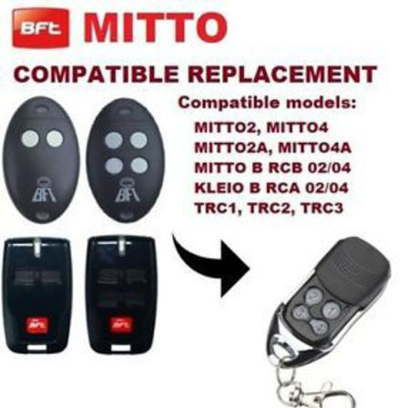 Bft Compatable Garage Door Gate Remote Control N Z Garage