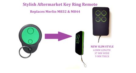 Merlin M842 Garage Door Remote Control