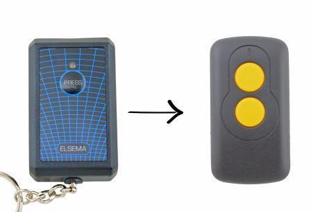 Elsema Garage Door Gate Remote Controls