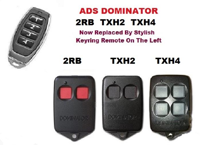 Ads Dominator Thx 4 Garage Door Remote