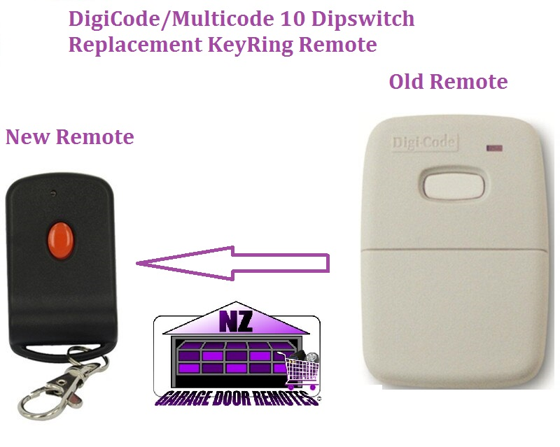 Digi Code: 5010 Garage Door- Gate Remote